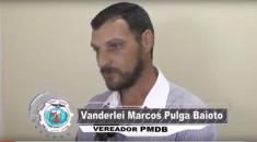 Vereador Vanderlei Baioto afirma que saúde é prioridade em Campo Novo do Parecis