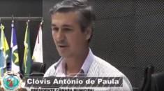 Presidente da Câmara, vereador Clovis de Paula visita Escola Marechal Candido Rondon e conhece proje